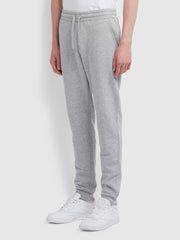 Shalden Cotton Sweatpants In Light Grey Marl