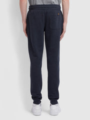 Shalden Cotton Sweatpants In True Navy Marl
