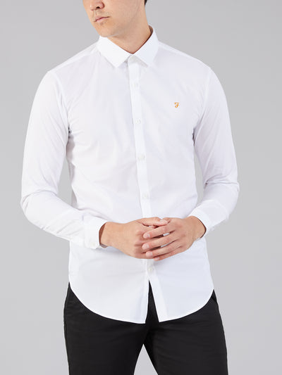 Swinton Tailored Shirt In White