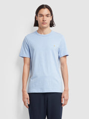 DENNIS SLIM FIT T-SHIRT IN MOONSTONE MARL