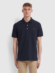 Blanes Slim Fit Polo Shirt In True Navy