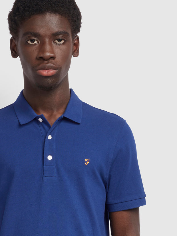 Blanes Slim Fit Polo Shirt In Ultramarine