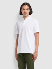 Ricky Slim Fit Polo Shirt In White