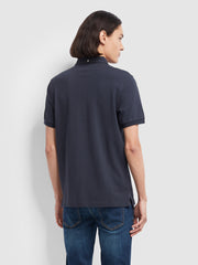 RICKY SLIM FIT POLO SHIRT IN TRUE NAVY