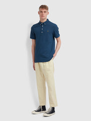 Ricky Slim Fit Polo Shirt In Farah Teal
