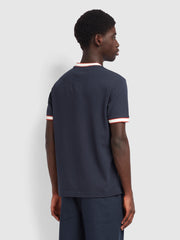 Birmingham Slim Fit T-Shirt In True Navy