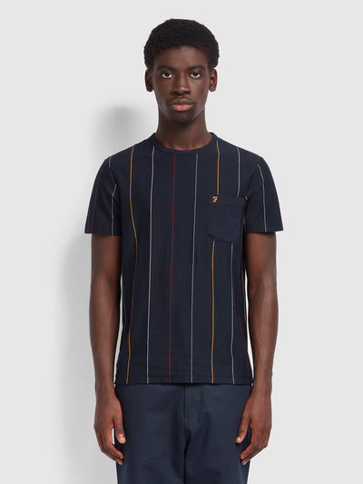 Binley Slim Fit T-Shirt In True Navy