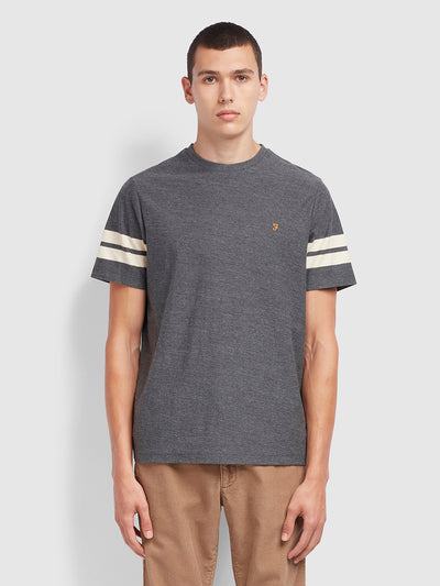 Stareton T-Shirt In Farah Grey Marl