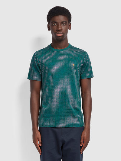 Holbrooks Slim Fit T-Shirt In Emerald Green