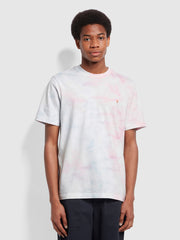 Clearwater Slim Fit Organic Cotton T-Shirt In Cool Pink