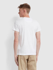 Farris Slim Fit Twin Pack T-Shirt In White/Black