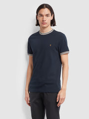 Texas Slim Fit T-Shirt In True Navy