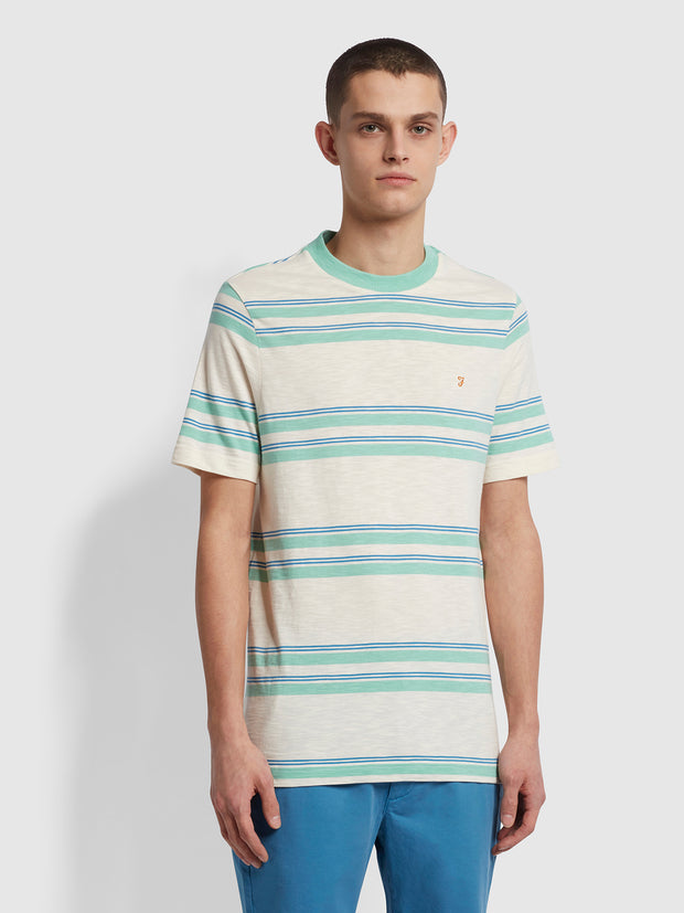 Mission Striped T-Shirt In Cream