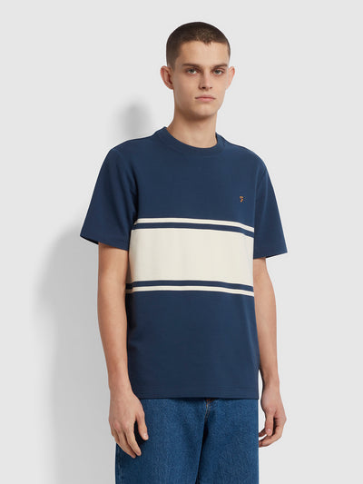 Belair Striped T-Shirt In Yale