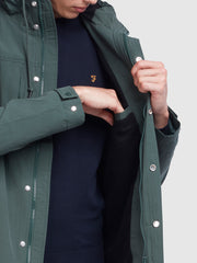 Maguire Fleece Lined Jacket In Deep Olive