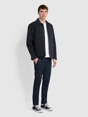 CASSIDY CHORE JACKET IN TRUE NAVY