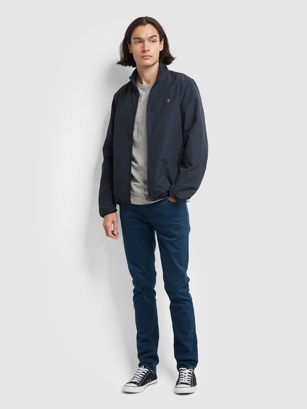 Talbot Blouson Jacket In True Navy