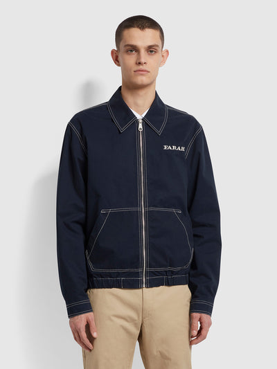 Fairbanks Jacket In True Navy