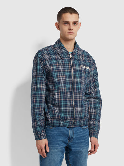 Fairbanks Check Jacket In Yale