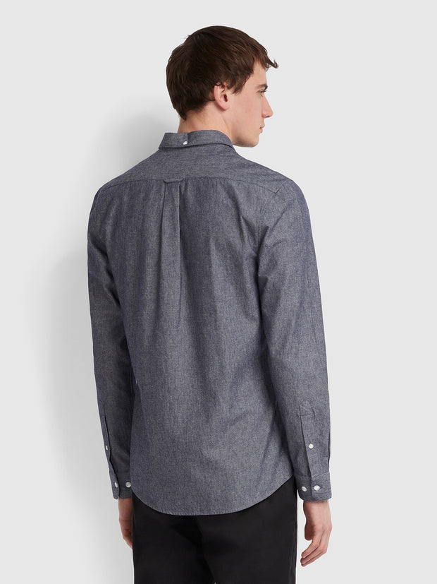 Pasadena Slim Fit Shirt In Stone Wash