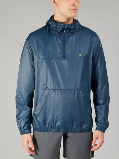LINWOOD 1/4 ZIP JACKET IN YALE