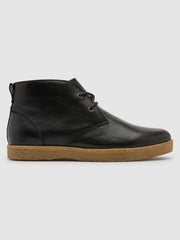 Jonah Desert Boot In Jet Black