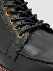Pantego Deck Boot In Jet Black