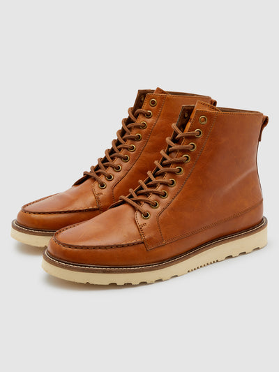 Pantego Deck Boot In Tan