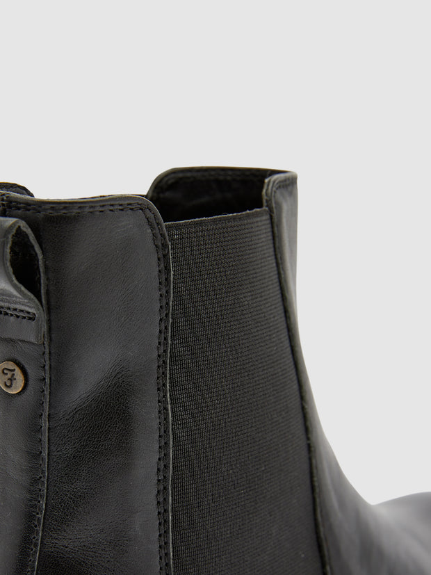 Mansfield Chelsea Boot In Jet Black