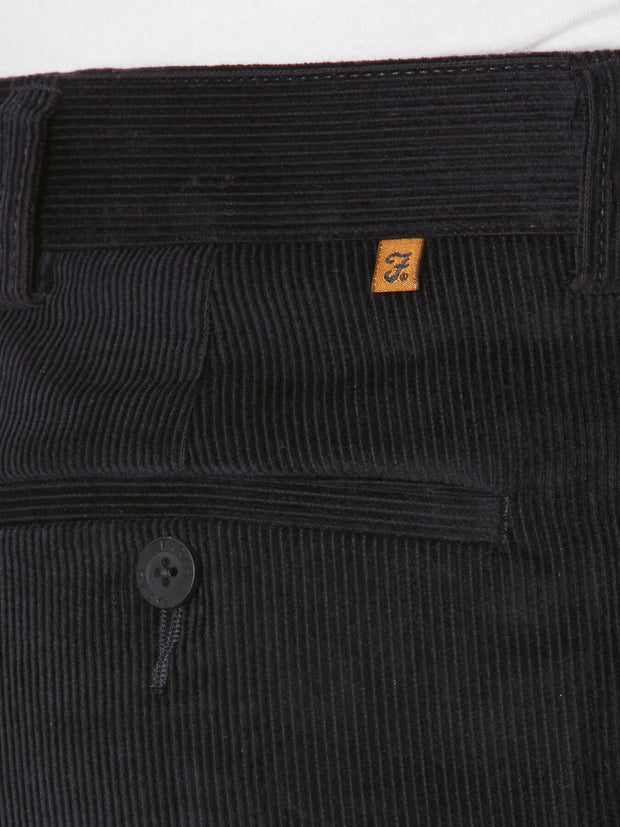 HOWDEN WALE CORD TROUSERS IN NAVY