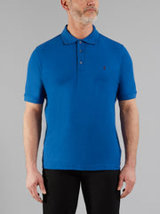 COVE POLO SHIRT IN ROYAL