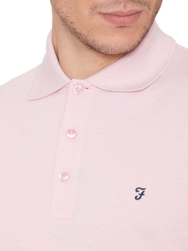 COVE POLO SHIRT IN PINK