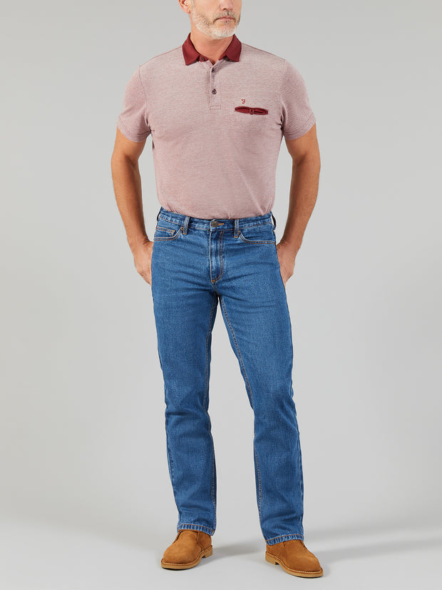 DARWOOD JEANS IN LIGHT BLUE