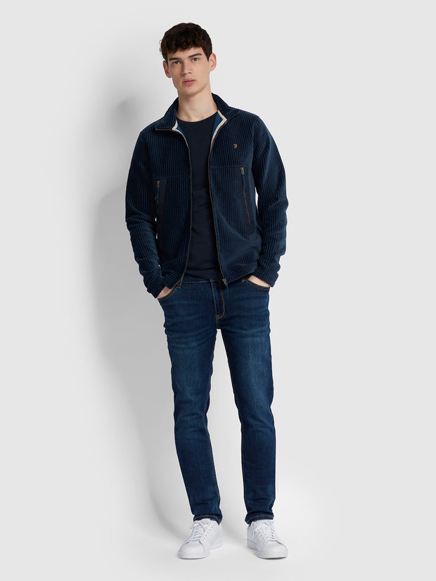 Beckett Cord Jacket In Yale