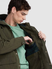 Hanley Coat In Farah Green