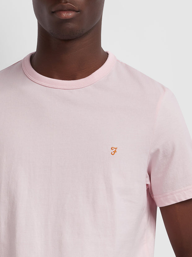 Dennis Slim Fit T-Shirt In Cool Pink