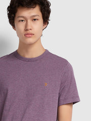 Dennis Slim Fit T-Shirt In Rose Taupe Marl