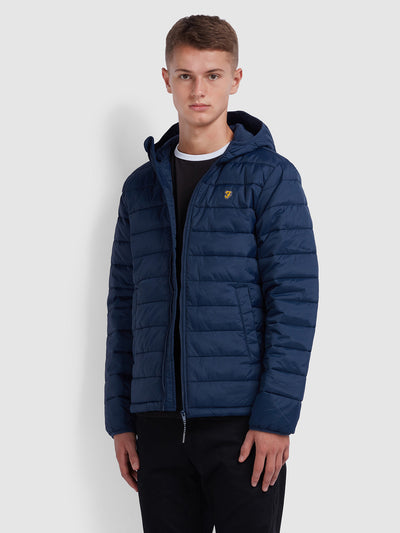 BOURNEMOUTH PUFFA JACKET IN YALE