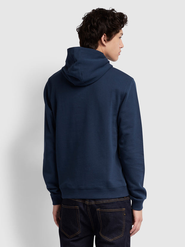 CLERKENWELL COTTON HOODIE IN YALE