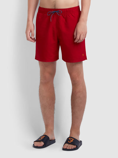 Colbert Swim Short In Red Chilli