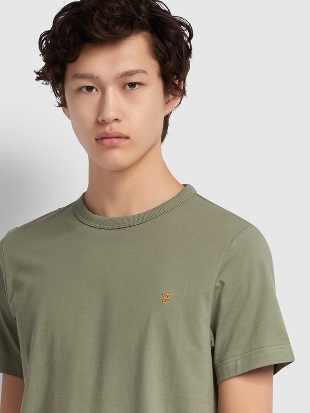 DENNIS SLIM FIT T-SHIRT IN WINTER BALSAM
