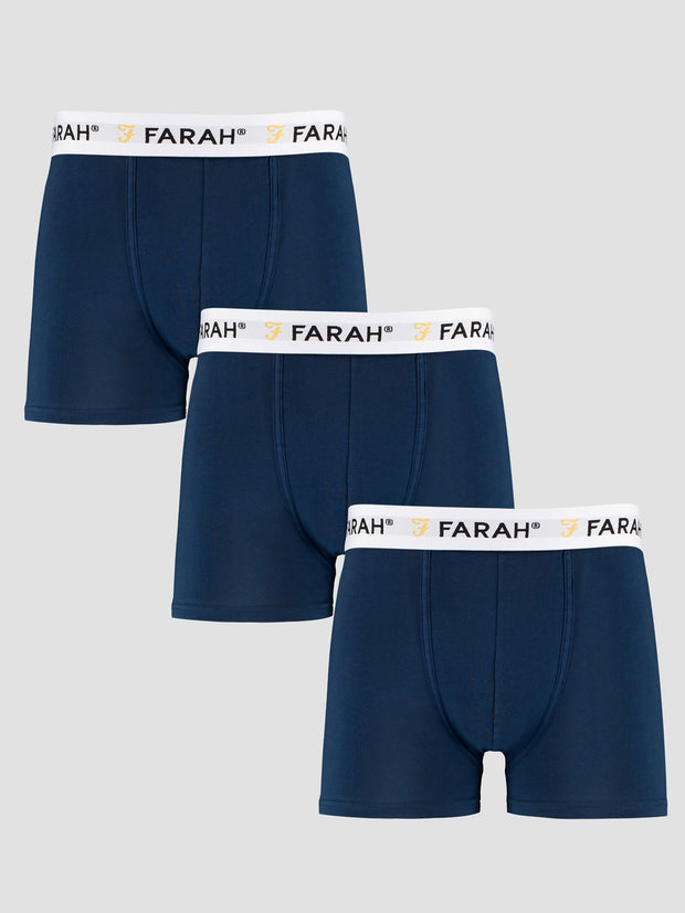 Hamill 3 Pack Boxers In Yale