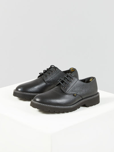 FRANK LEATHER SHOE IN BLACK