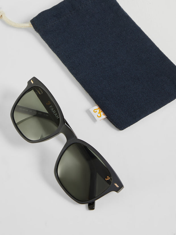Matt Square Sunglasses In Vinyl