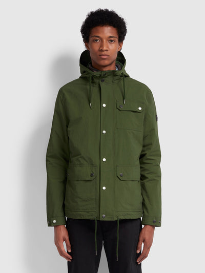 BLACKPOOL 2-IN-1 PARKA IN MOSS