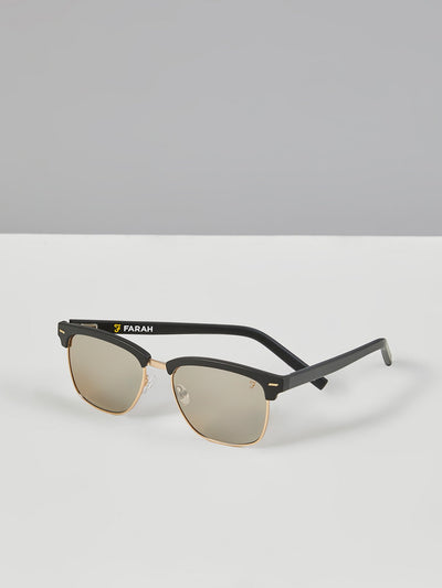 Club Tortoiseshell Sunglasses In Camel