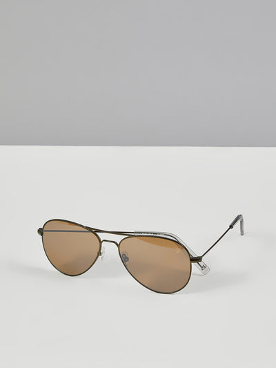 Aviator Sunglasses In Vintage Green