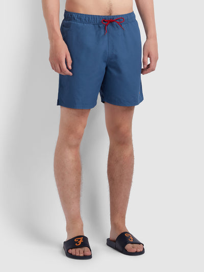 Colbert Swim Short In Dusky Blue