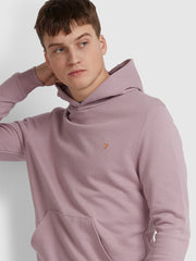 CLERKENWELL COTTON HOODIE IN WISTERIA