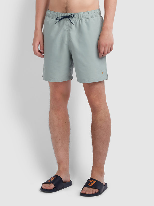 Colbert Swim Short In Green Mist